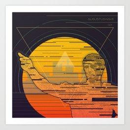 Augustuswave 001 Art Print
