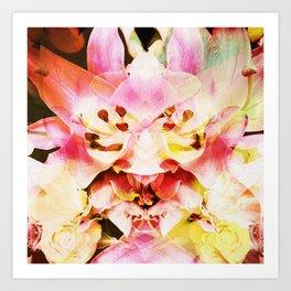F Fever Art Print