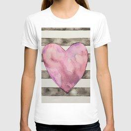 Stripey Love T-shirt