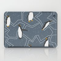 penguin iPad Cases featuring Penguin by Julia Brnv