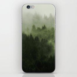 Drift - Green Mountain Forest iPhone Skin
