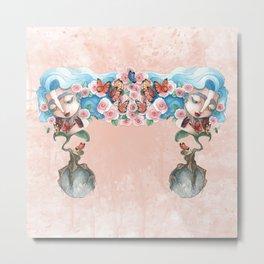 Queen of flowers Metal Print