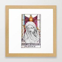 La Justicia Framed Art Print