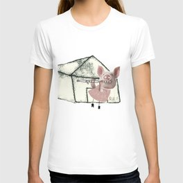The three little pigs (ANALOG zine) T-shirt