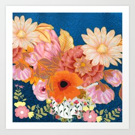 Flowers Everywhere Art Print