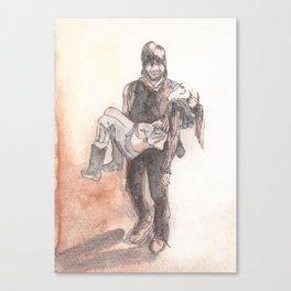Final Walk Canvas Print
