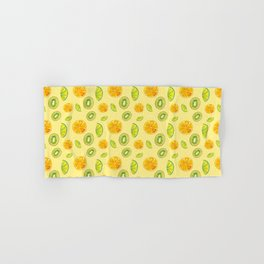 Tropical, fresh and citric fruits Hand & Bath Towel