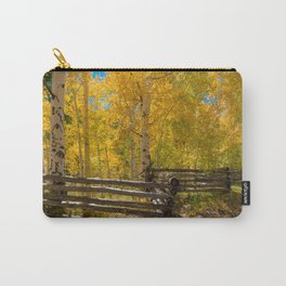 Aspen Autumn Color I - Southern Utah Carry-All Pouch