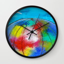 FLYING WITH THE BIRDS Wall Clock