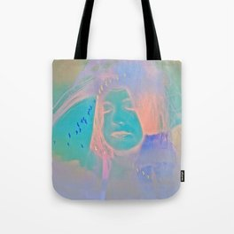 Kiss me just once again and I'll be on my way Tote Bag