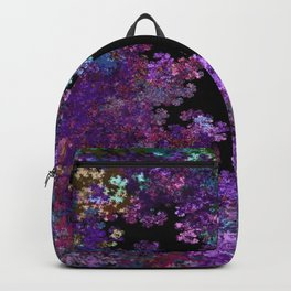 Flora-Purple Backpack