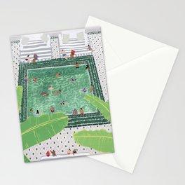 Green Riad Stationery Cards