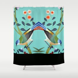 something else entirely Shower Curtain