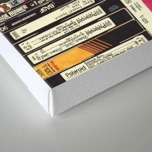 Cassettes, VHS & Games Canvas Print
