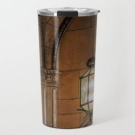 Hanging Lamp in the Hall of a Dark Moorish Castle Travel Mug