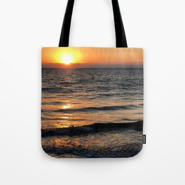 Sunset in the north of Peru - part 1 #eclecticart Tote Bag