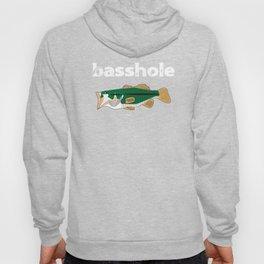 Fishing Basshole Bass Hole Funny Fisherman Gift Hoody