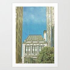 San Francisco Tops 5 Art Print