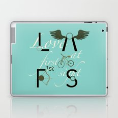 Love at First Sight and Bicycle Laptop & iPad Skin