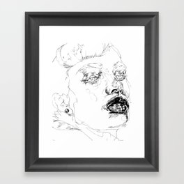 You Know Framed Art Print
