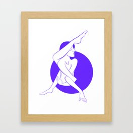 Connecting Arms Framed Art Print