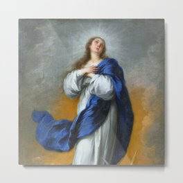 """Bartolomé Murillo """"The Immaculate Conception"""" Metal Print"""