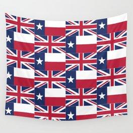Union Jack Texas Flag Wall Tapestry