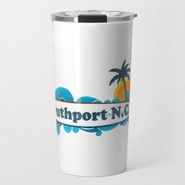 Southport - North Carolina. Travel Mug