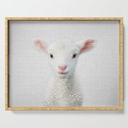 Lamb - Colorful Serving Tray
