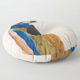 Egon Schiele - Moa (Dancer) Floor Pillow