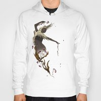 crane Hoodies featuring Crane  by Devon Busby Busbyart