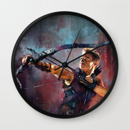 Clint Barton Wall Clock