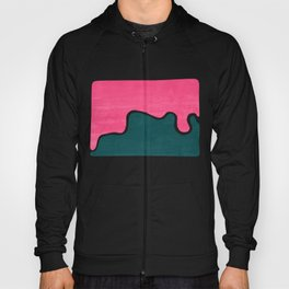 London Abstract Pink Hoody