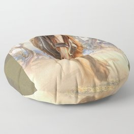 The Clydesdale Floor Pillow