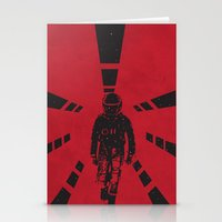 2001 a space odyssey Stationery Cards featuring 2001 by Geminianum