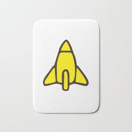 Reggie Rocket Bath Mat