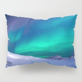 Northern Lights (Aurora Borealis) 15. Pillow Sham