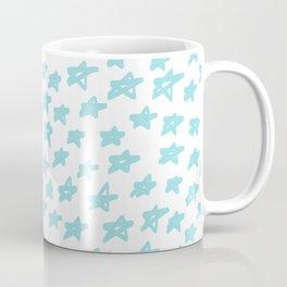 Stars mint on white background, hand painted Coffee Mug
