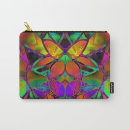 Floral Fractal Art G306 Carry-All Pouch