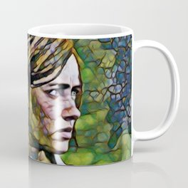 The Last of Us Ellie Artistic Illustration Infected Style Coffee Mug