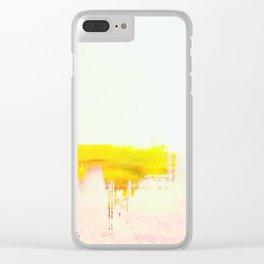 Abstract Landscape, Modern Southwest, Minimal Desert Clear iPhone Case
