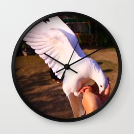 "gau peng jan chr ""高鵬展翅"" Wall Clock"