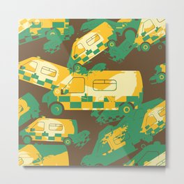 Ambulance Metal Print