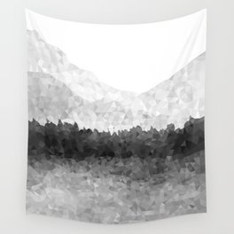 Design 116 Grey Mosaic Landscape Wall Tapestry