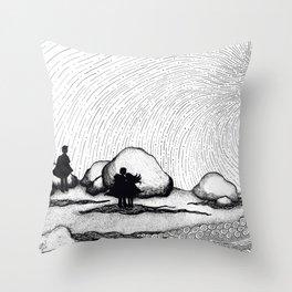 Selkie Beach Throw Pillow