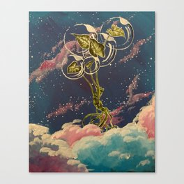 Homegirl Goes to Outer Space Canvas Print