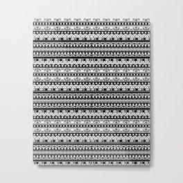 Zentagle Metal Print
