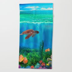UnderSea with Turtle Beach Towel