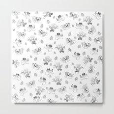 Pet Fish - White print Metal Print