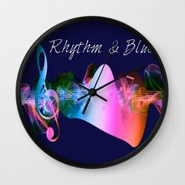 Rhythm & Blues Wall Clock